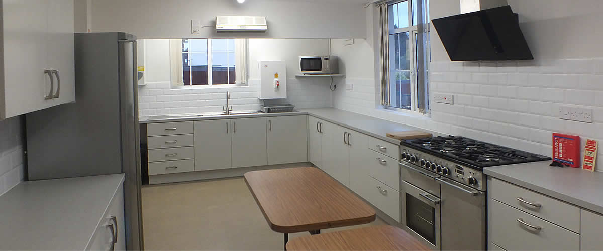 Fremington Parish Hall has a modern, well equipped kitchen