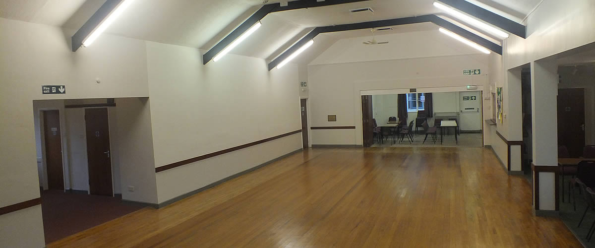 Fremington Parish Hall offers a spacious hall, stage, modern kitchen and side rooms
